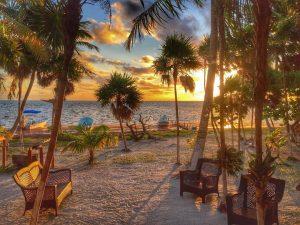 Sunrises in Mexico.