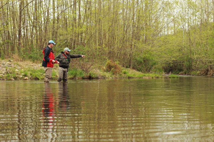 Guided trout trips in Central Virginia and beyond