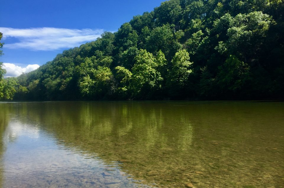 Shenandoah river and James river