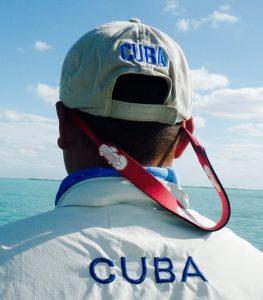 Guides shirt in Cuba.