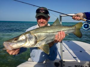 Snook caught while fishing in Cuba with Avalon in Isle of Youth, Cuba. Isla de la Juventud.