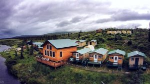 Alaska Trophy Adventures Lodge. Situated on the banks of the Alagnak RIver.