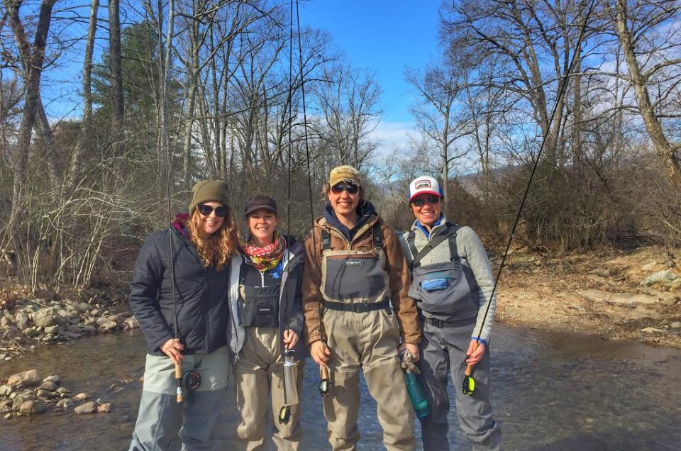 Ladies' Fly Fishing, Beautiful Weather and Happy Fish
