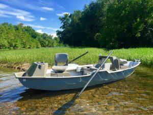 boat on James river