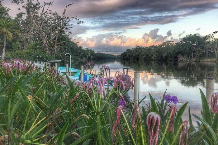 Belize River Lodge, Long Caye, Belize.