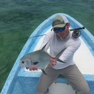 Belize and Central America Permit. Permit caught in Ascension Bay Mexico while fishing La Pescadora Lodge, Punta Allen Mexico.