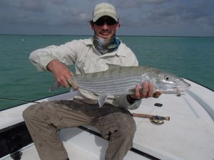 trpoical fly fishing on Andros Bahama.